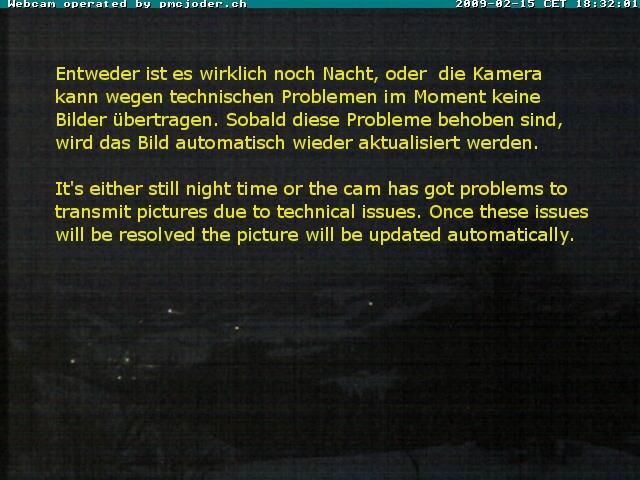WebCam Waldhaeusern; Aktuelles Bild